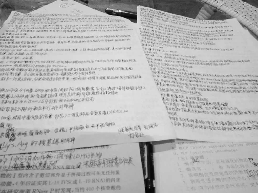 我不是什么学霸,我只是一个搞期末复习的学渣
